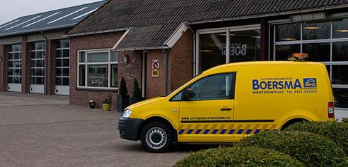 Automobielbedrijf Boersma - Berging