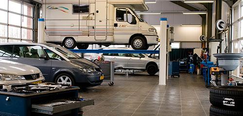Automobielbedrijf Boersma - Werkplaats